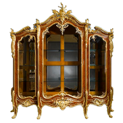 Important Vitrine by Francois Linke