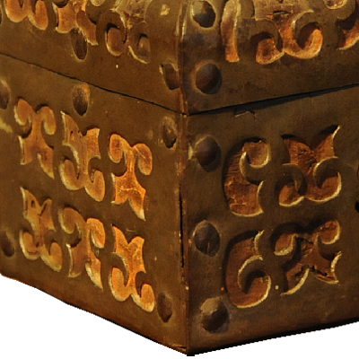 Spanish iron box - 16th century