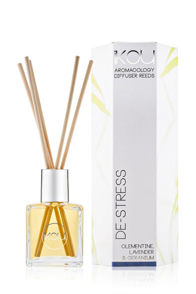 iKOU Aromacology Diffuser Reeds - DeStress (From Sydney Blue Mountain)