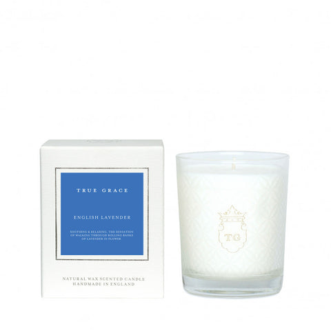 TRUE GRACE - ENGLISH LAVENDER CANDLE