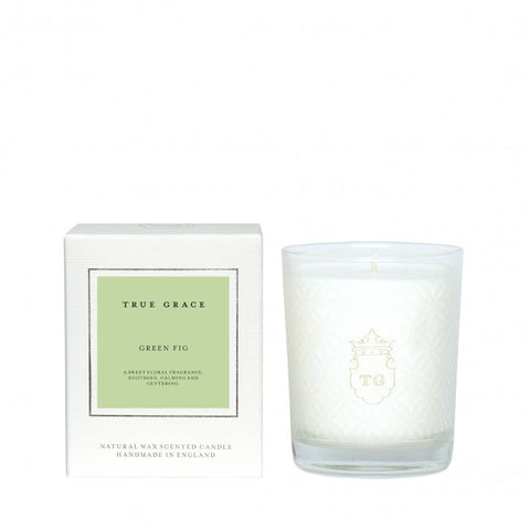 TRUE GRACE - GREEN FIG CANDLE