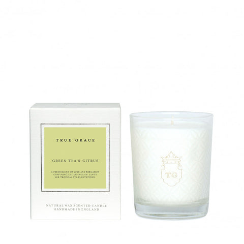 TRUE GRACE - GREEN TEA & CITRUS CANDLE