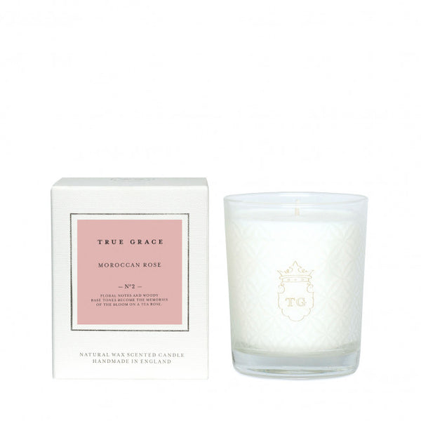 TRUE GRACE - MOROCCAN ROSE CANDLE
