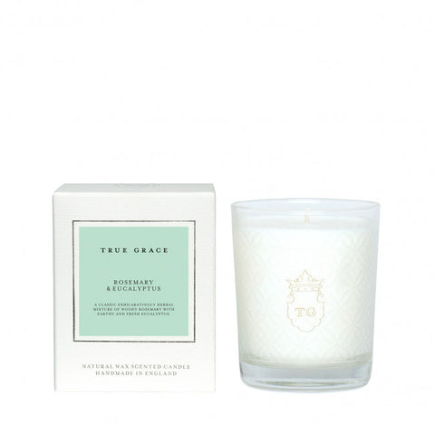 TRUE GRACE - ROSEMARY & EUCALYPTUS CANDLE