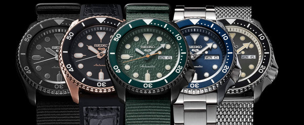 Seiko 5 Sports watches