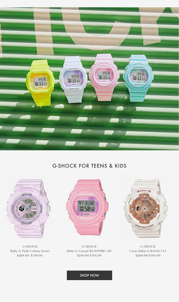 G-Shock For Kids And Teens