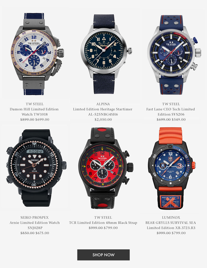 Shop Limited Edition Watches