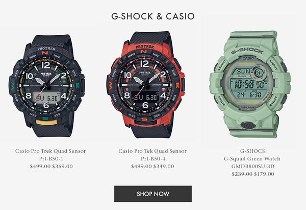 Shop G-Shock and Casio Smart Watches