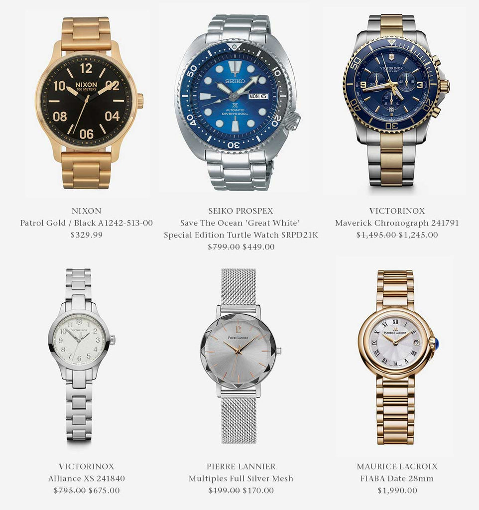 Metal Band Watches
