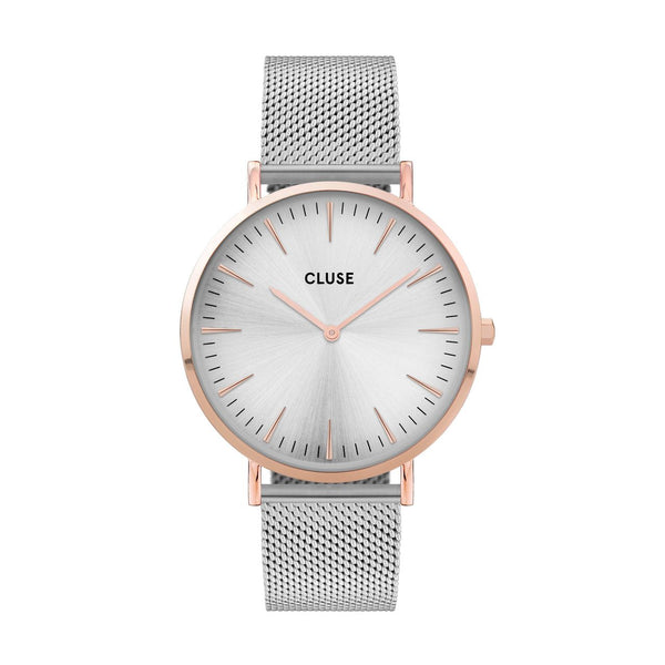 CLUSE Boho Chic Mesh Rose Gold Watch CW0101201006