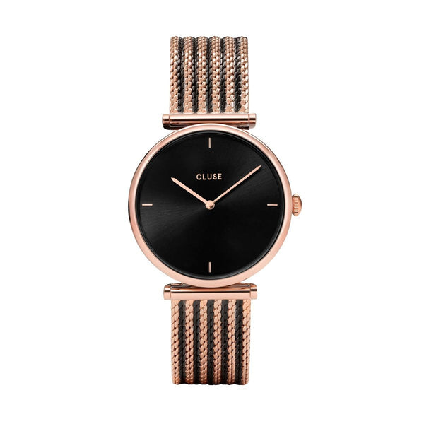 CLUSE Triomphe Mesh Bicolour Rose Gold Watch CW0101208005