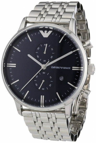 Armani Classic Chronograph Stainless Steel Ar1648 - Mens Watch