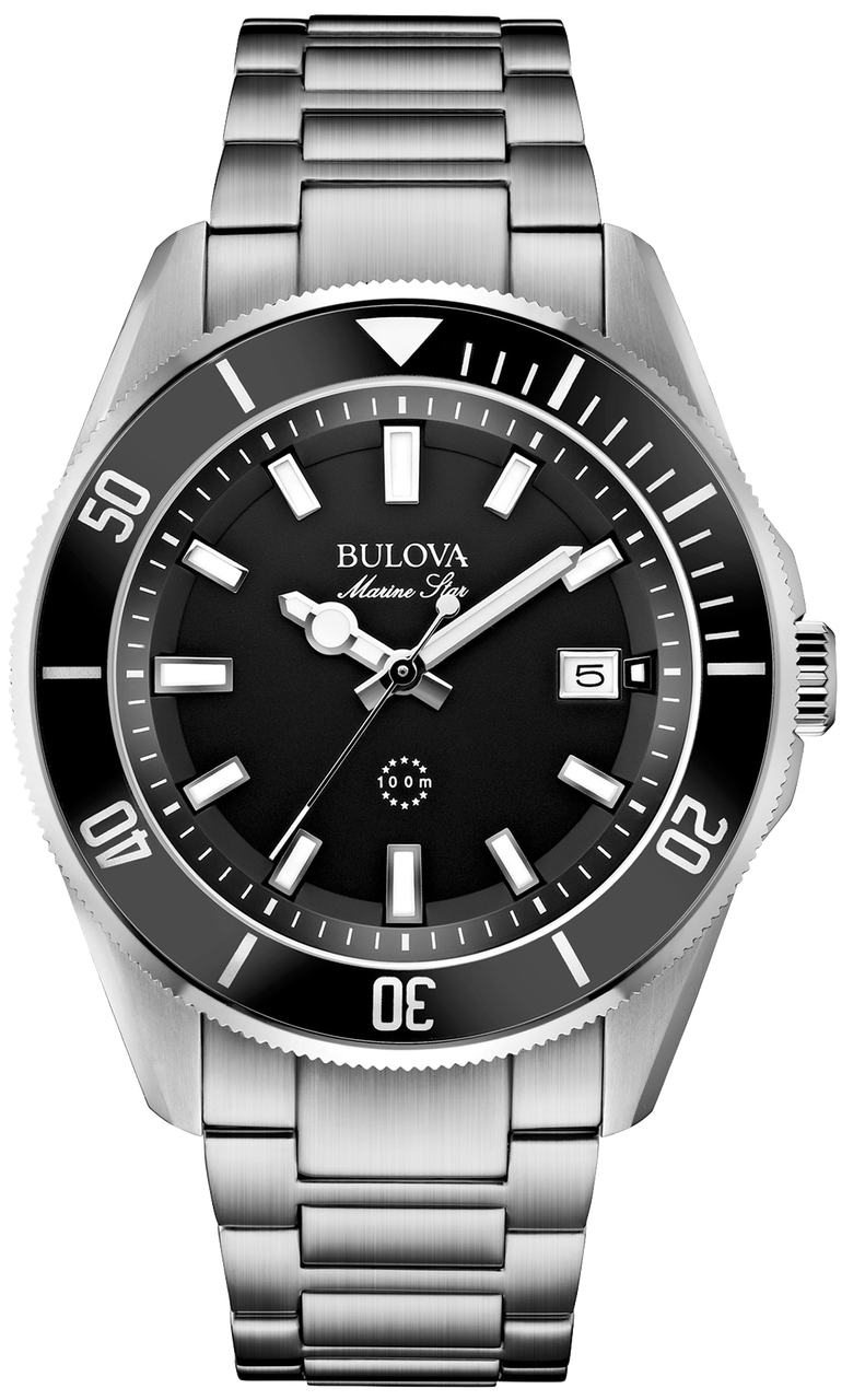 Bulova Marine Star Mens Watch 98B203