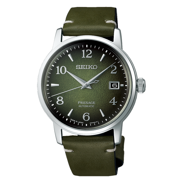 Seiko Presage Matcha /Green Tea Mens Watch
