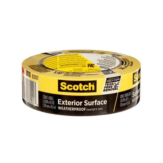 3M 2097-36EC 36mm x 45yd Scotch Yellow Tape