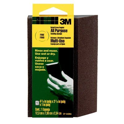 3M Angled Sanding Sponge All Purpose