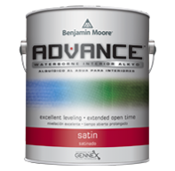 ADVANCE® Waterborne Interior Alkyd Paint - Satin Finish 792