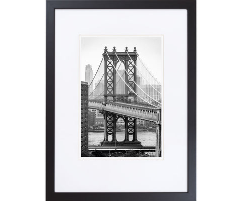 Brooklyn Bridge - fine art photography store - elvistudio photography - A4 (210x297mm) / Black - 1