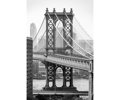 Brooklyn Bridge - fine art photography store - elvistudio photography - A4 (210x297mm) / No Frame - 5