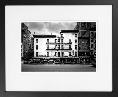 Manhattan Street I - fine art photography store - elvistudio photography - A4 (210x297mm) / Black - 1