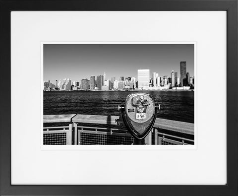 Manhattan Cityscape I - fine art photography store - elvistudio photography - A4 (210x297mm) / Black - 1