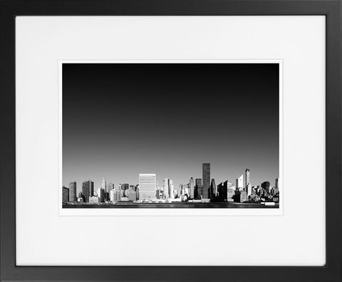 Manhattan Cityscape II - fine art photography store - elvistudio photography - A4 (210x297mm) / Black - 1