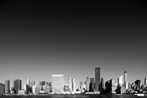 Manhattan Cityscape II - fine art photography store - elvistudio photography - A4 (210x297mm) / No Frame - 7