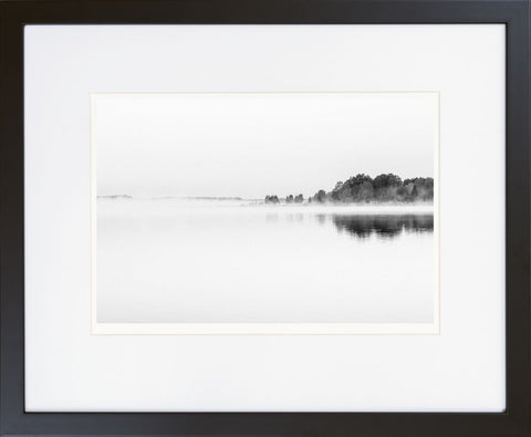 Foggy Morning on Tamula Lake I - fine art photography store - elvistudio photography - A4 (210x297mm) / Black - 1