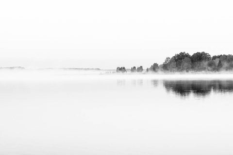 Foggy Morning on Tamula Lake I - fine art photography store - elvistudio photography - A4 (210x297mm) / No Frame - 7