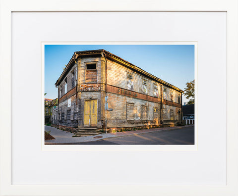 Wooden House in Võru - fine art photography store - elvistudio photography - A4 (210x297mm) / White - 1