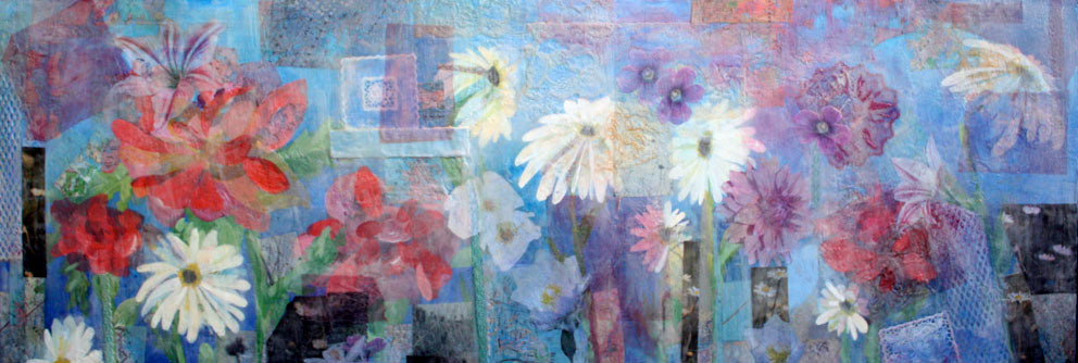 'My life in Flowers' Print
