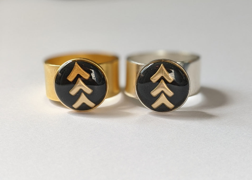 Lucky Few Three Arrow Ring