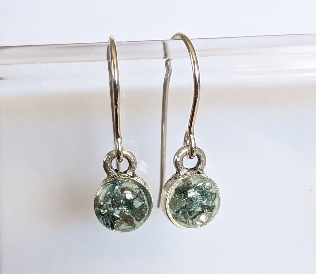 Glass Rock Earrings