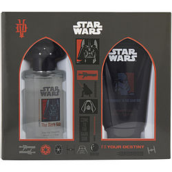 STAR WARS DARTH VADER EDT SPRAY 1.7 OZ & SHOWER GEL 2.5 OZ