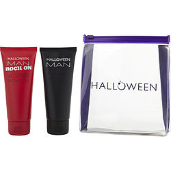 HALLOWEEN VARIETY 2 PIECE VARIETY WITH HALLOWEEN & HALLOWEEN ROCK ON AND BOTH ARE SHOWER GEL 3.4 OZ & VANITY CASE (U)