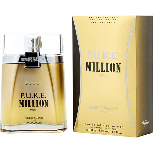 Pure Million By Giorgio Valenti Edt Spray 3.3 Oz