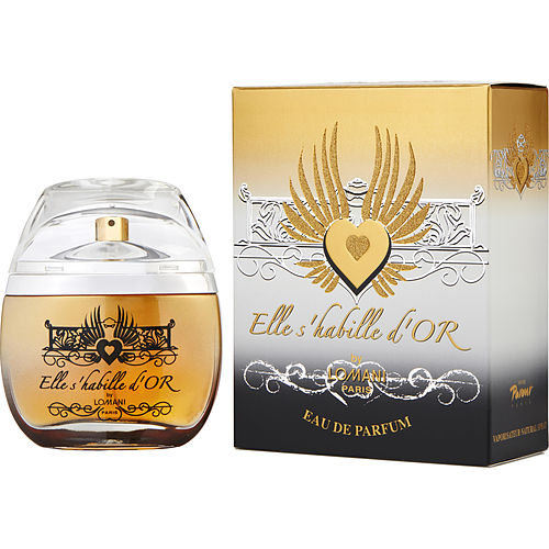 Lomani Elle S'habille D'or By Lomani Eau De Parfum Spray 3.3 Oz