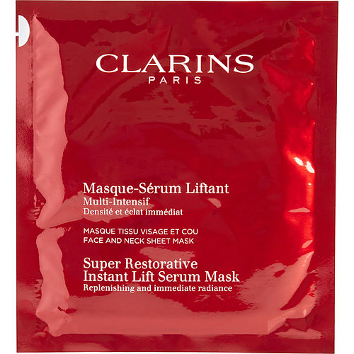 Clarins By Clarins Super Restorative Instant Lift Serum Mask --30ml-1oz --1sheet