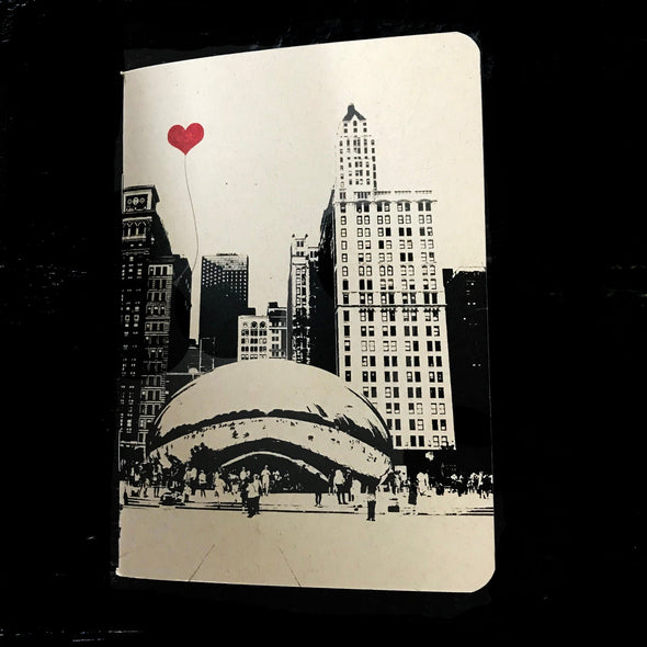 Chicago Bean Pocket Notebook
