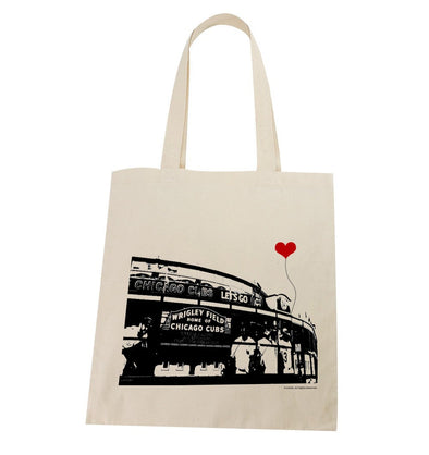 Wrigley Field Chicago Cubs Tote Bag