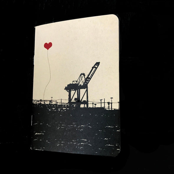 Oakland Crane Pocket Notebook