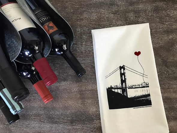 San Francisco Golden Gate Bridge Tea Towel