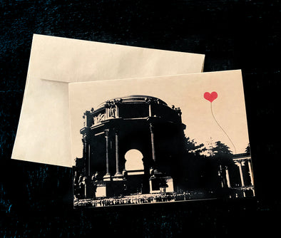 San Francisco Palace of Fine Arts single note card