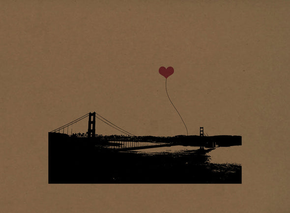 San Francisco Lover's Prints - choose your favorite