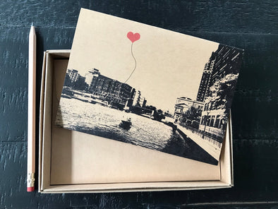 Milwaukee Wisconsin Lover's Boxed Note Card Set of 8