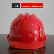 Load image into Gallery viewer, Construction safety Hard Hat