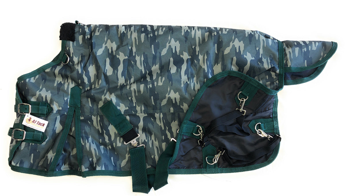 1200D Waterproof Poly Miniature Turnout Blanket - Camouflage