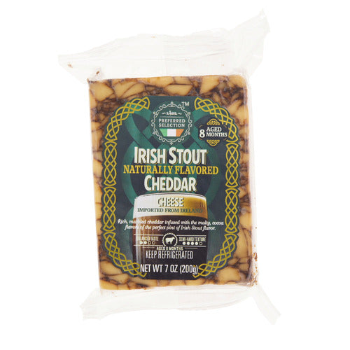 Lidl Preferred Selection Irish stout flavored cheddar cheese