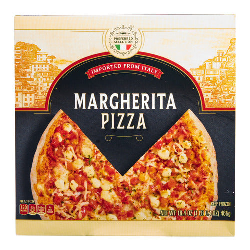 Lidl Preferred Selection frozen pizza, margherita
