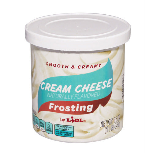 Lidl cream cheese frosting
